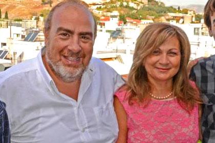 Dina and Argyris Petrou