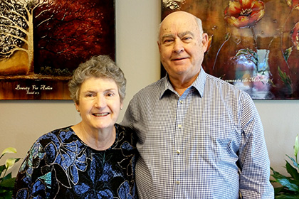 Linda and Jim Sims