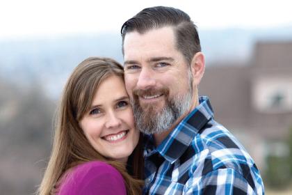 Heather and Marcus Rudd